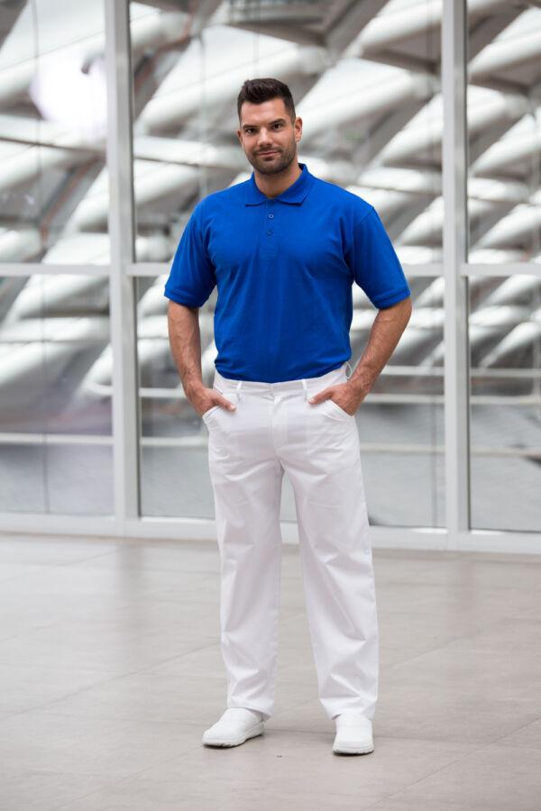 Férfi fehér orvosi nadrág